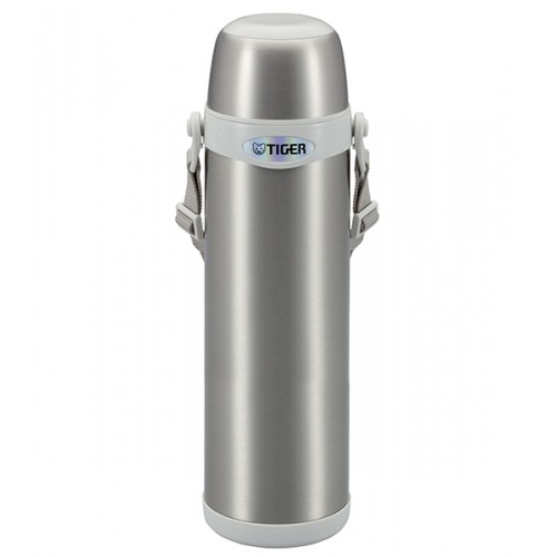 STAINLESS STEEL THERMAL VACUUM BOTTLE 1.0L CLEAR STAINLESS XW