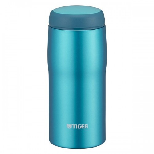 STAINLESS STEEL THERMAL BOTTLE EASY DRINK 0.36L BRIGHT BLUE