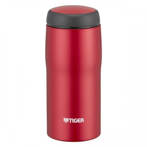 STAINLESS STEEL THERMAL BOTTLE EASY DRINK 0.36L MATTE RED