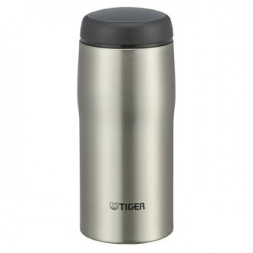 STAINLESS STEEL THERMAL BOTTLE EASY DRINK 0.36L CLEAR STAINLESS
