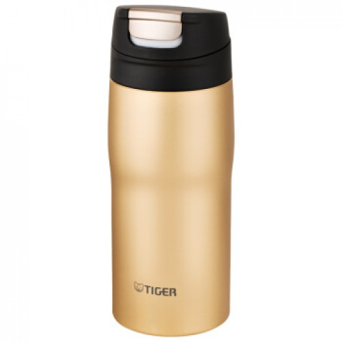 STAINLESS STEEL BOTTLES ONE PUSH OPEN 0.36L GOLD