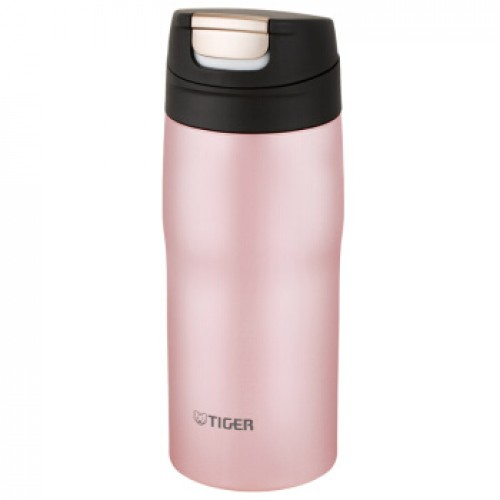 STAINLESS STEEL BOTTLES ONE PUSH OPEN 0.36L PINK