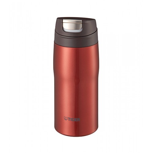 STAINLESS STEEL BOTTLES ONE PUSH OPEN 0.36L RED