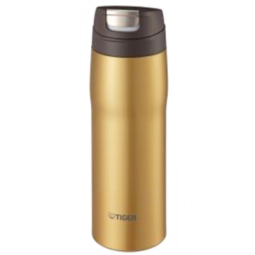 STAINLESS STEEL BOTTLES ONE PUSH OPEN 0.48L GOLD