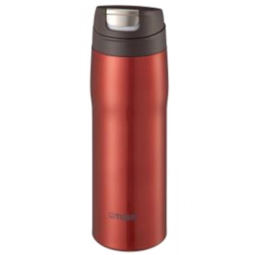 STAINLESS STEEL BOTTLES ONE PUSH OPEN 0.48L RED