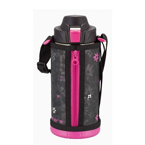 STAINLESS STEEL DIRECT DRINK BOTTLES 1 L PINK