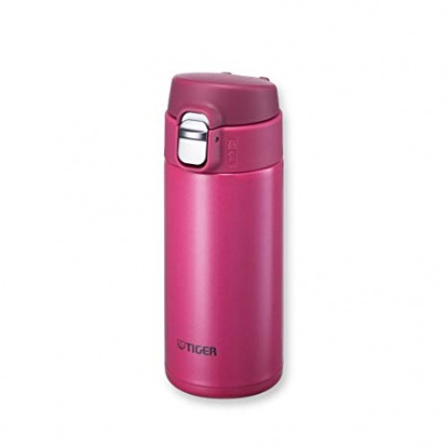 ULTRA LIGHT STAINLESS STEEL THERMAL BOTTLE WITH ONE PUSH OPEN 0.36L PASSION PINK