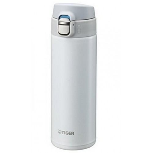 ULTRA LIGHT STAINLESS STEEL THERMAL BOTTLE WITH ONE PUSH OPEN 0.48L SNOW WHITE