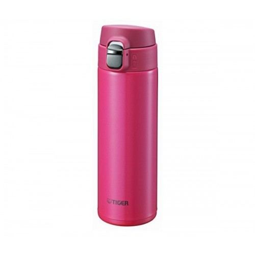 ULTRA LIGHT STAINLESS STEEL THERMAL BOTTLE WITH ONE PUSH OPEN 0.48L PASSION PINK