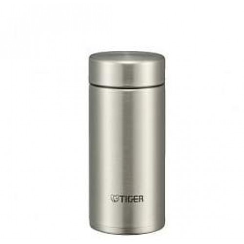 ULTRA LIGHT STAINLESS STEEL THERMAL BOTTLE 0.2L CLEAR STAINLESS