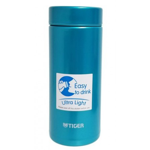 ULTRA LIGHT STAINLESS STEEL THERMAL BOTTLE 0.35L AQUA BLUE