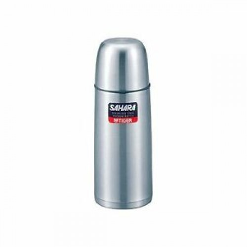 STAINLESS STEEL THERMAL VACUUM BOTTLE 0.35L STAINLESS BLUE