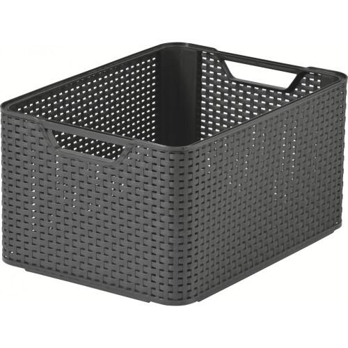 Style Range Baskets A5 Black-Medium