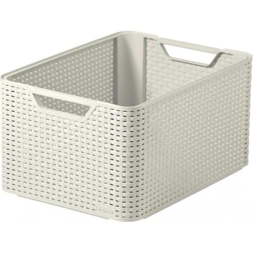 Style Range Baskets A5 Silver-Medium