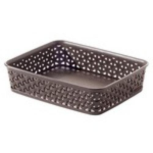My Style Basket A5  Dark Brown-Medium
