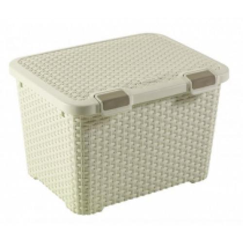 Style Box 43L White
