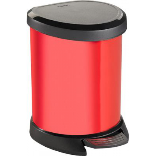 Deco Bin- 5L  Red