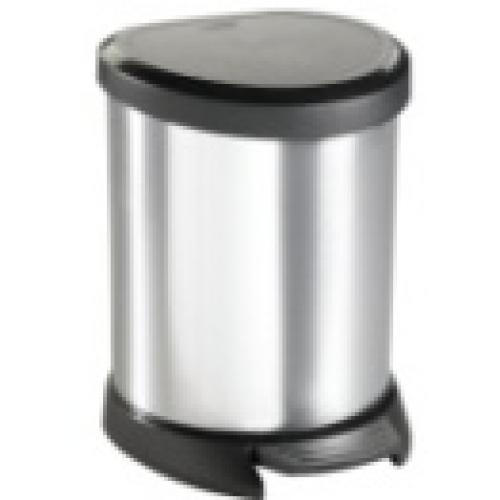 Deco Bin- 5L   Silver