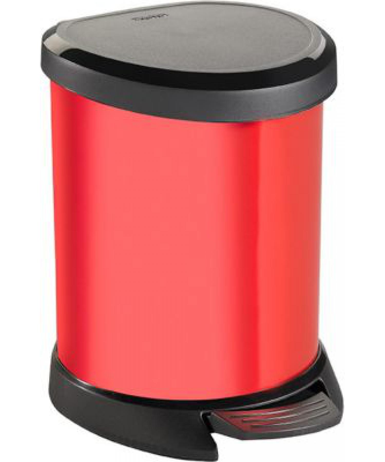 Deco Bin Pedal -20L Red