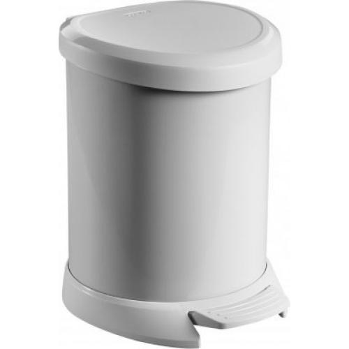 Deco Bin Pedal -20L White