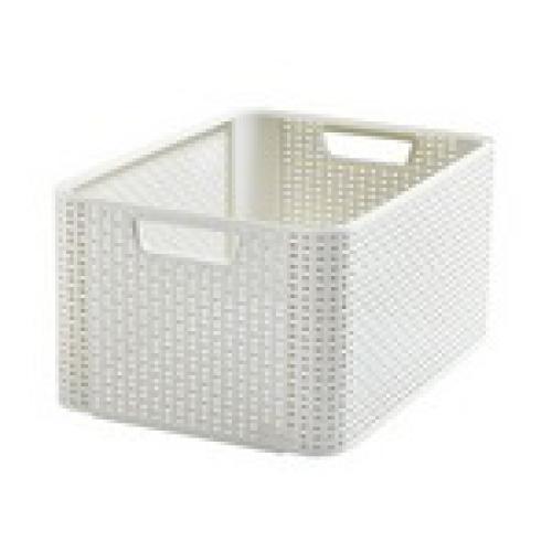 Style Box Large  V2 +W/o Lid White