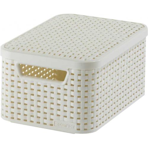 Style Box Large  V2 + Lid White