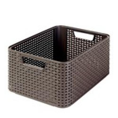 Style Box Medium V2 + W/o Lid Dark Brown