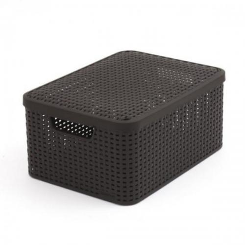 Style Box Medium V2 + Lid Dark Gray