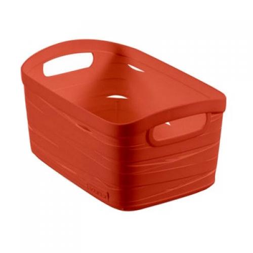 Ribbon Basket 20LLarge  Orange
