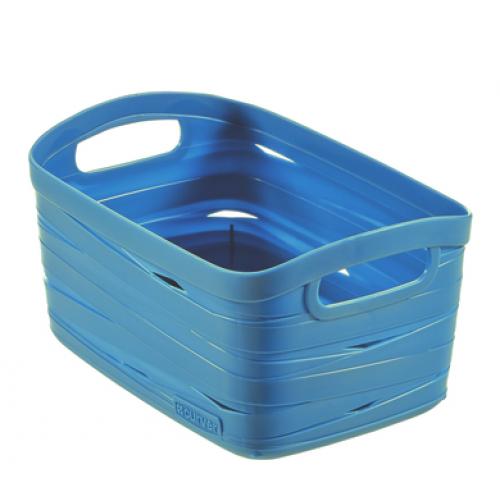 Ribbon Basket 3L X Small Blue