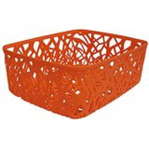 Ribbon Basket 3L X Small  Orange