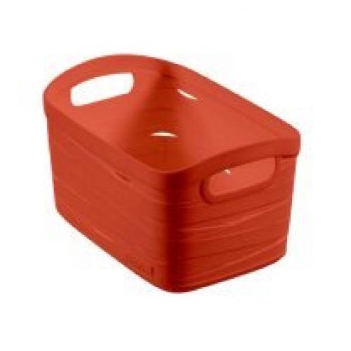 Ribbon Basket 8L Small  Orange