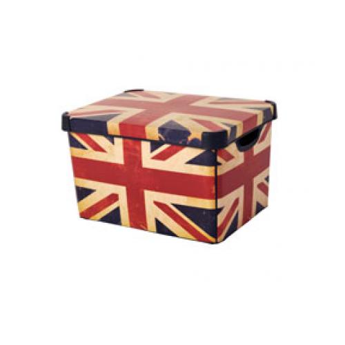 Stockholm Deco Box - Small British Flag
