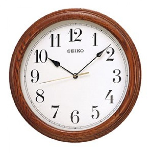 WOODEN WALL CLOCK QXA153BN