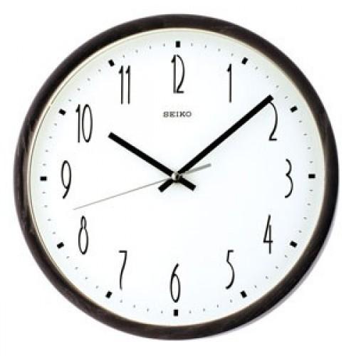 WOODEN WALL CLOCK QXA387BN