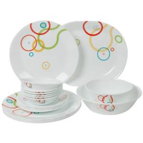 Hula Hoop 21pcs Dinner Set
