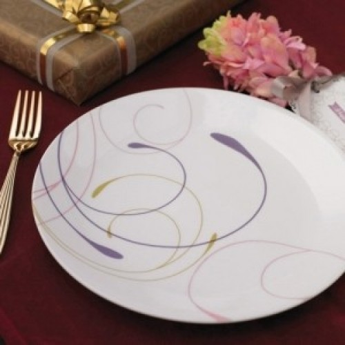 Violet Dance 21pcs Dinner Set