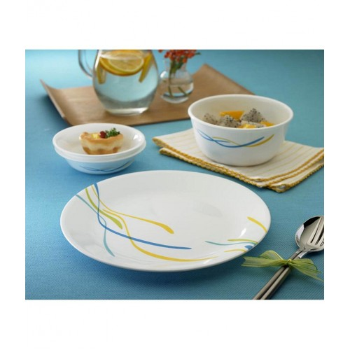 Waves 21pcs Dinner Set
