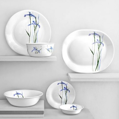 Shadow Iris 21pcs Dinner Set