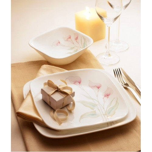 Lilyville Square 21pcs Dinner Set