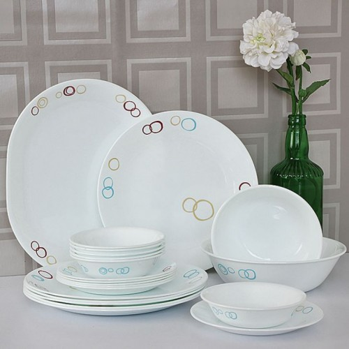 Circles 21pcs Dinner Set