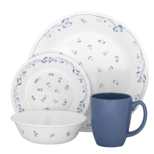 Provincial Blue 21pcs Dinner Set