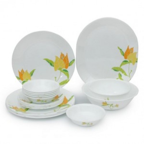 Autum Leaves 21pcs Dinner Set