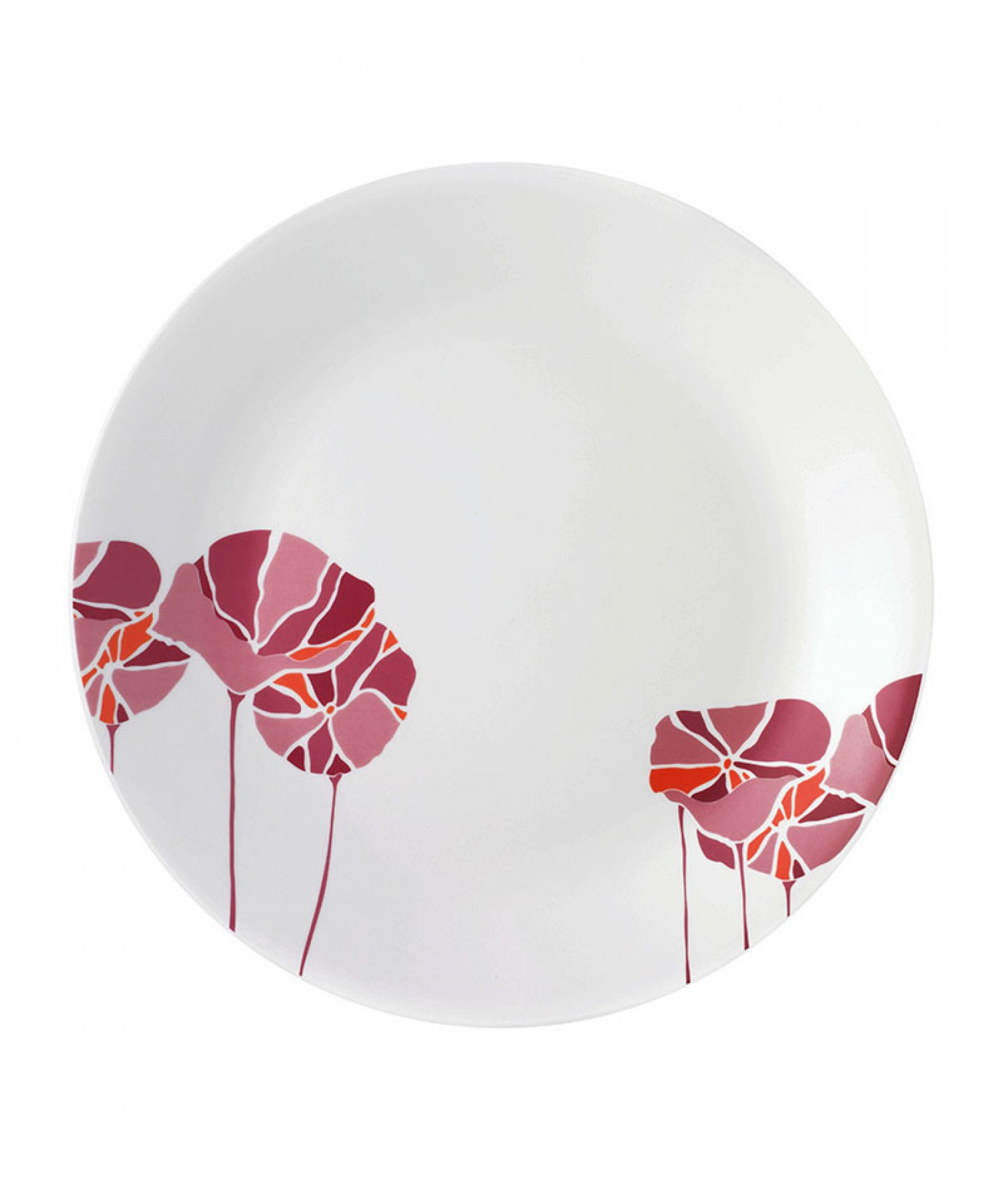 sc 1 st  Bhawani Crystals & Pink Lotus Dinner Plate (Set of 6)