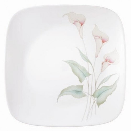 Lilyville Square Dinner Plate (Set of 6)