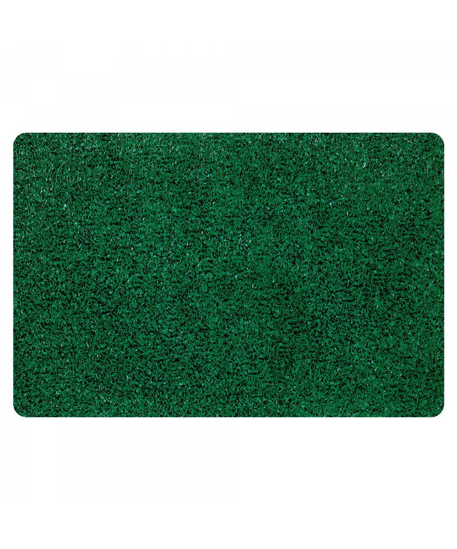 CUSHION DOORMAT, GREEN/BLACK 46 X 76 CM