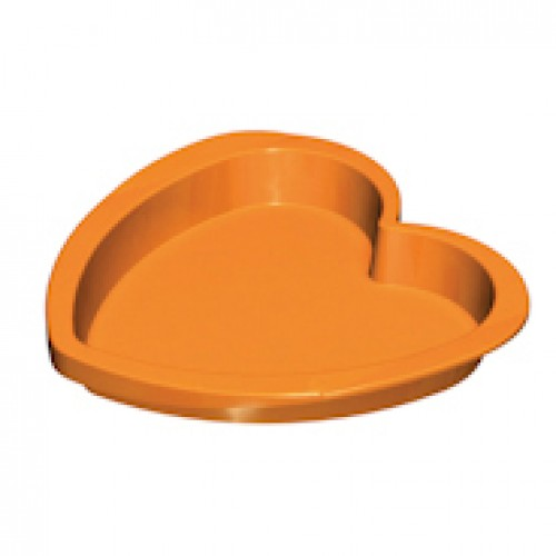 HEART CAKE MOULD 21 CM SILICONE