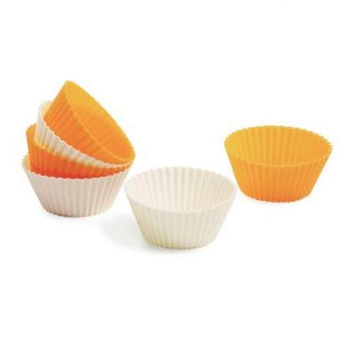 SILICONE ROUND MUFFIN MOULD 6 PCS
