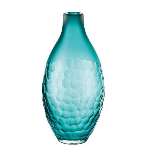 Vase, 11 1/2 inch | Fiji - Blue