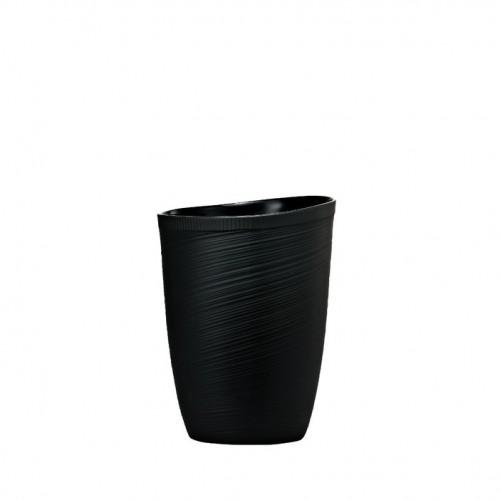 Black Vase, 9 inch | Papyrus